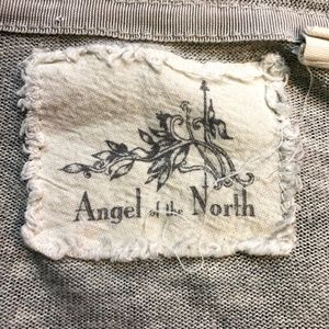 Anthropologie Sweaters - Anthro Angel of the North Gray Cascade Cardigan S